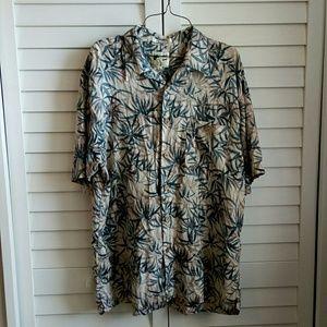 M. E. Sport Button down shirt size XL